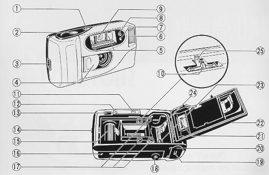Ricoh shotmaster AF-P instructions