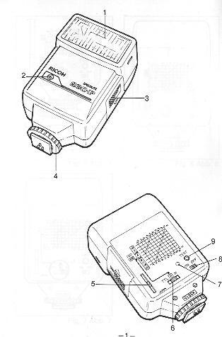 Ricoh Speedlite 260P flash manual