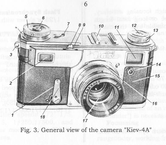 Kiev-4 and kiev-4 A Ccamera manual