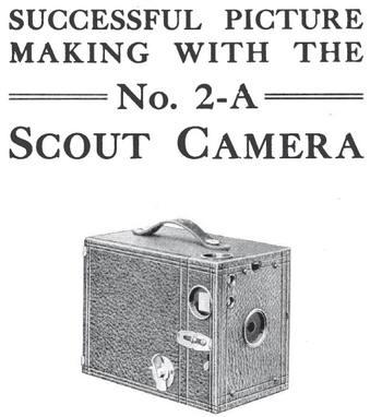 Senica Scout 2-A Camera instruction manual, user manual