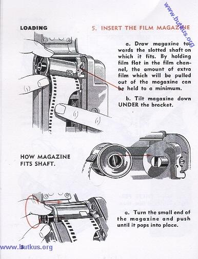 Viewmaster Stereo Camera instruction manual, use manual