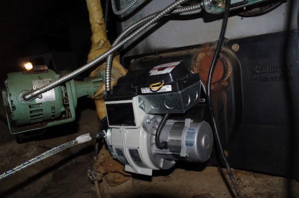 Oil Furnace Restart Flooding Honeywell R8184