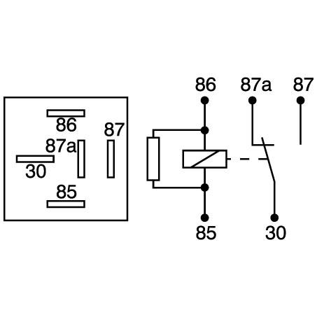 narva 12 volt relay wiring diagram 1993 ford ranger 12v 30 40amp change over butler auto mart 25 37 incl gst