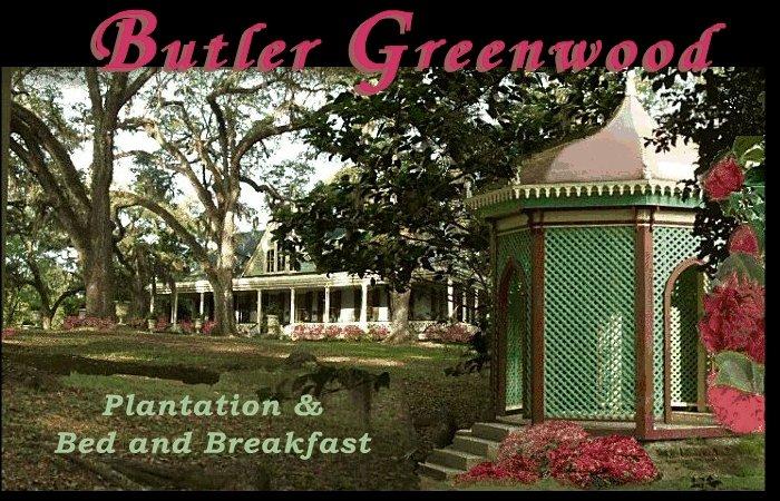 Butler Greenwood Plantation Bed And Breakfast