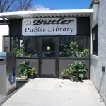 Entrance to Butler Library