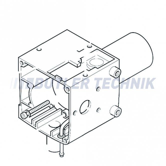 Eberspacher Hydronic 10 Combustion Chamber Housing