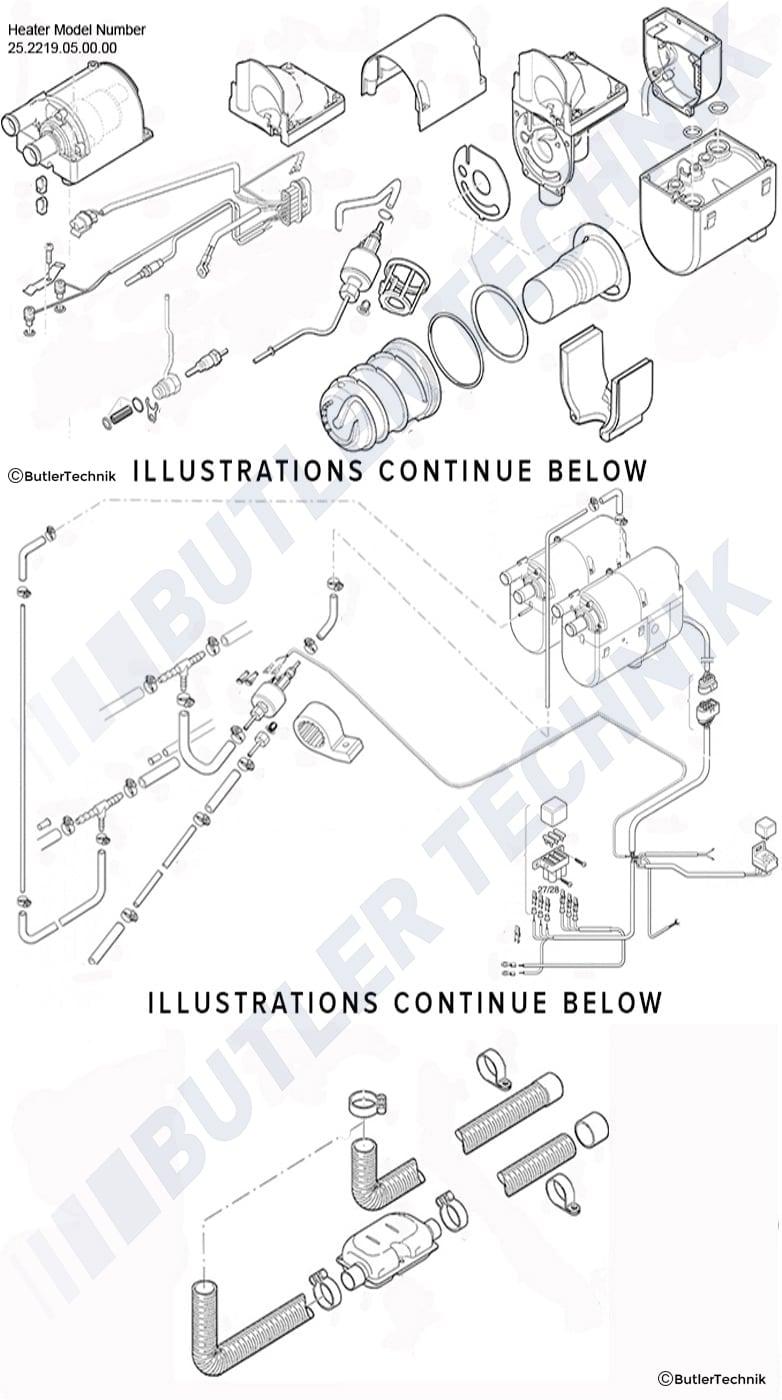 Eberspacher Hydronic B4wsc B5wsc D4wsc And D5wsc Heater