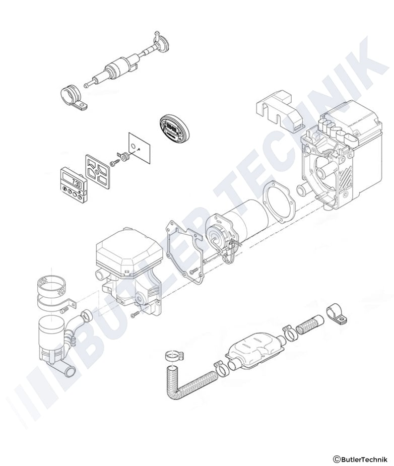 WEBASTO THERMO TOP Z C HEATER SERVICE WORKSHOP MANUAL - Auto ... on