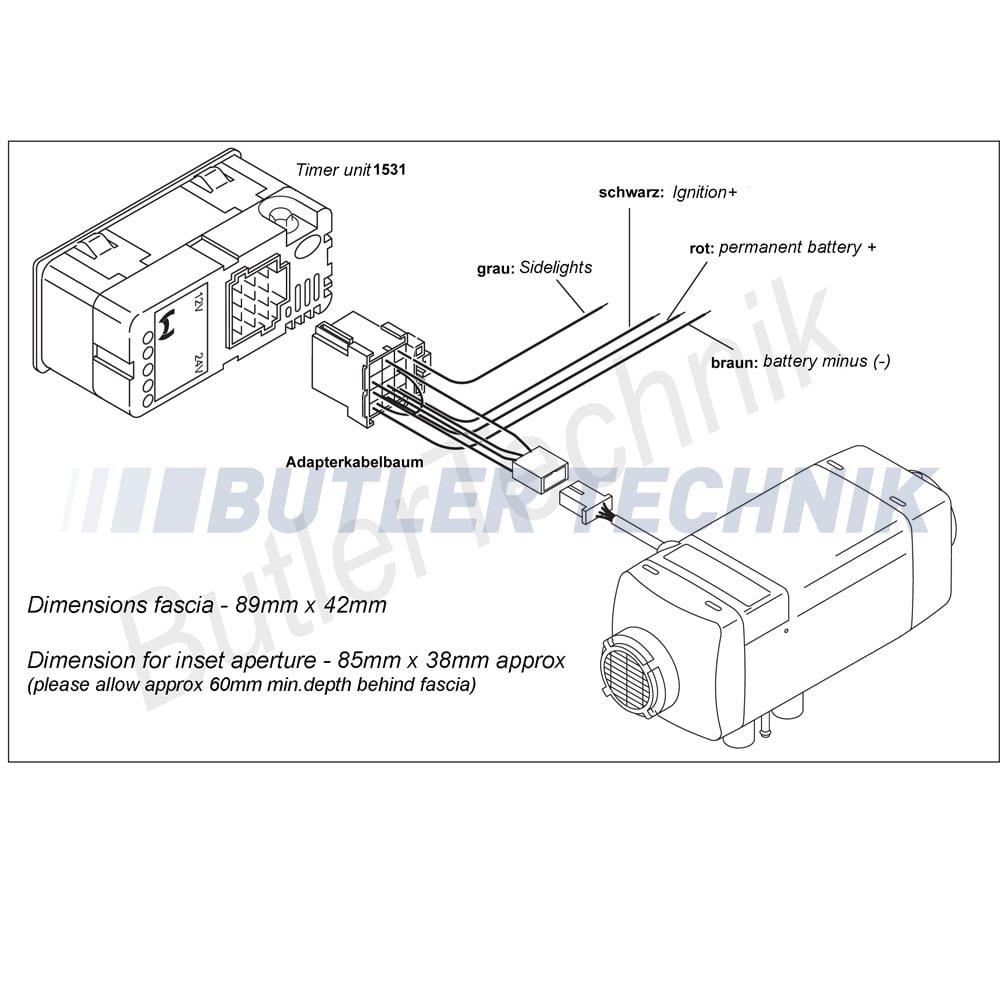 hight resolution of webasto wiring diagram wiring diagram databasewebasto heater timer upgrade kit 12v 41k031a webasto heater wiring webasto