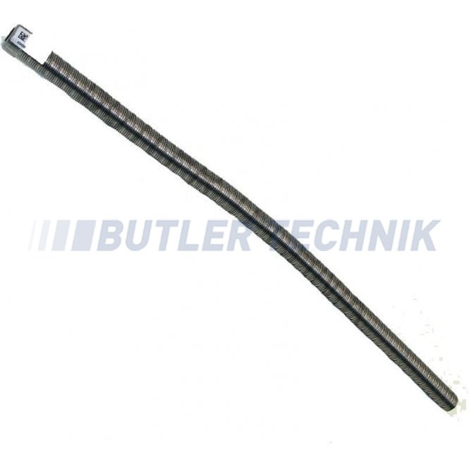 Webasto heater Exhaust pipe 22mm with end cap embelisher