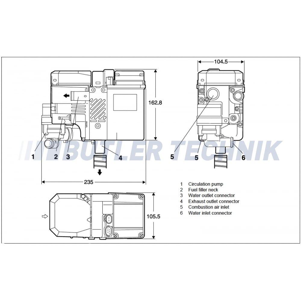 hight resolution of webasto thermo top c 300 rv camper heating 41k107d rannai heater wiring diagram image webasto heater