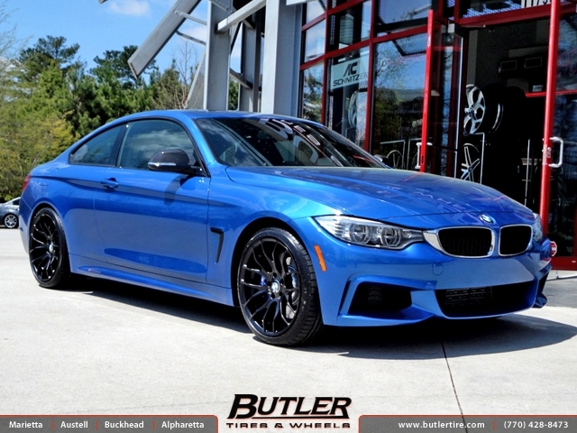BMW 4 Series With 19in Breyton Race GTS Wheels Exclusively