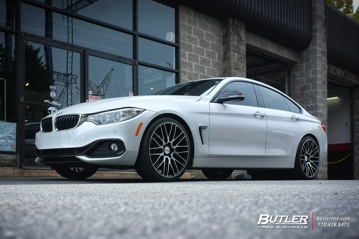 BMW 4 Series Gran Coupe With 20in Savini BM13 Wheels