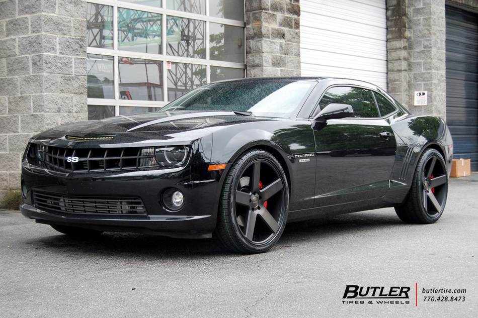 Chevrolet Camaro With 22in DUB Baller Wheels Exclusively