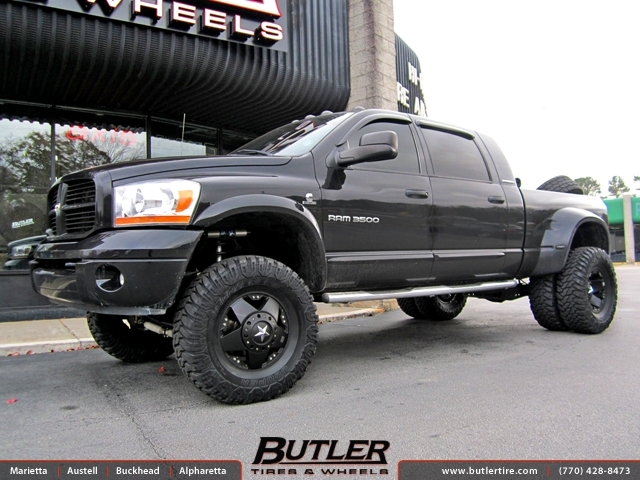 chevy silverado dually xd rockstar wheels leviton wiring diagrams dodge ram with 17in exclusively from butler tires and in atlanta, ga ...