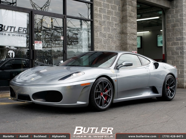 Car Black And Green Wallpaper Ferrari F430 With 19in Bbs Fl Wheels Exclusively From