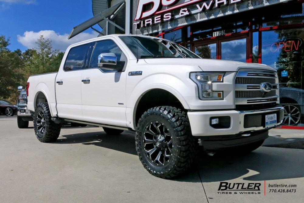 medium resolution of ford f150 with 20in fuel assault wheels