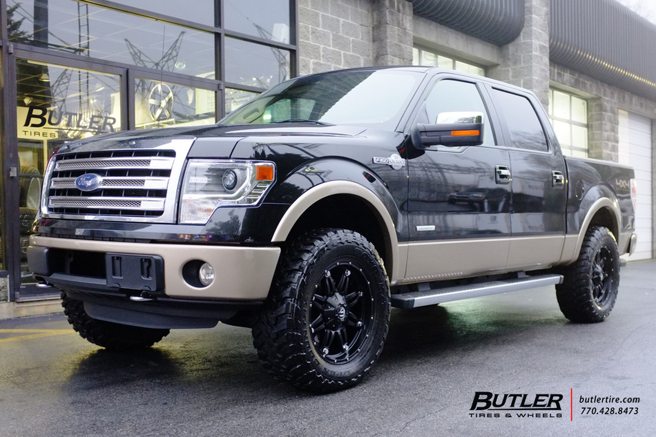 Car Rims And Tires Wallpaper Ford F150 With 22in Fuel Hostage Wheels Exclusively From