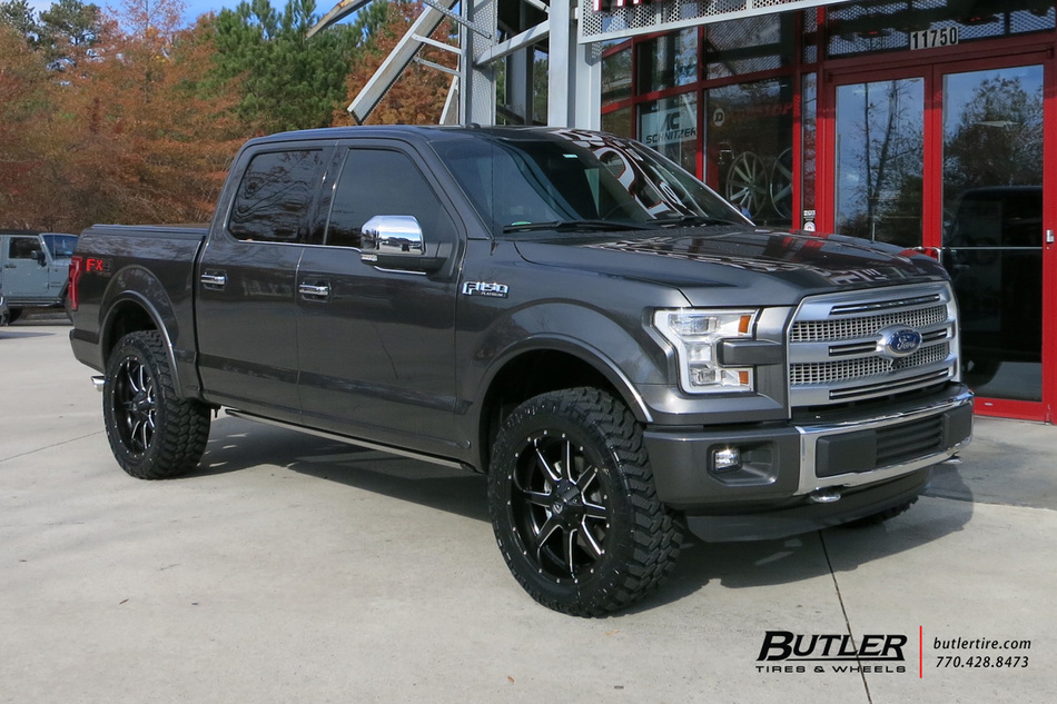 Ford F150 With 22in Fuel Maverick Wheels Exclusively From