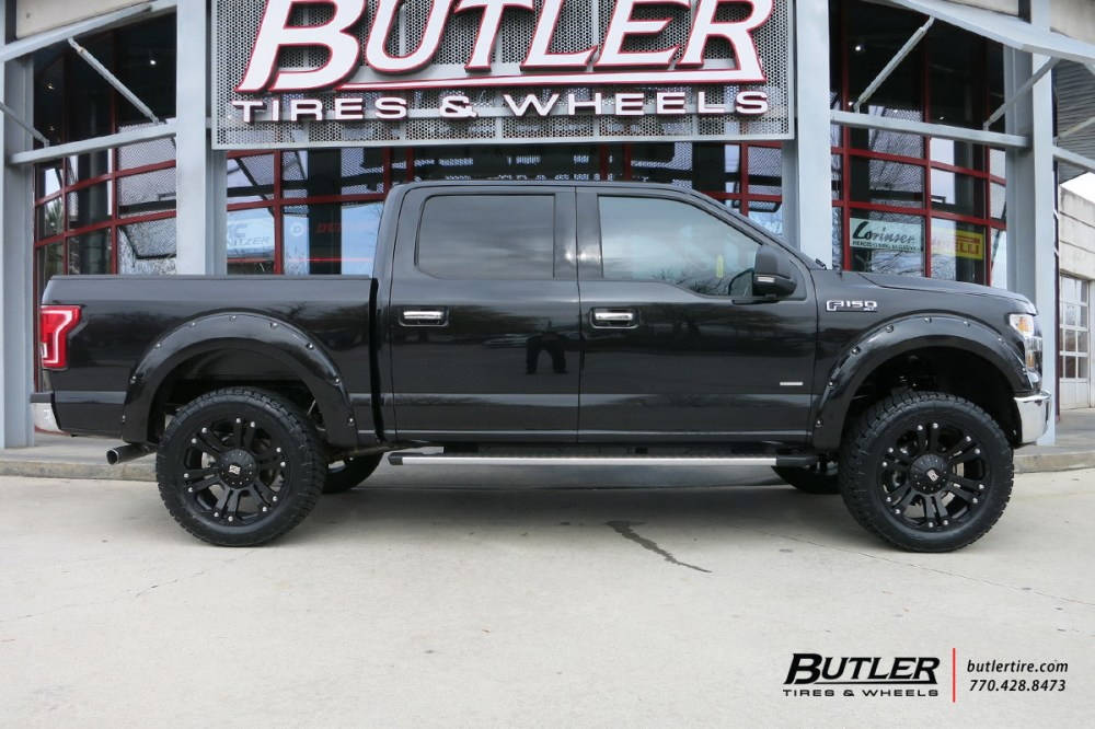 medium resolution of ford f150 with 22in xd monster wheels