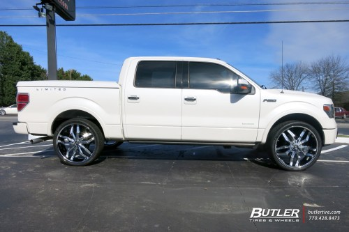 small resolution of ford f150 with 26in lexani arte wheels
