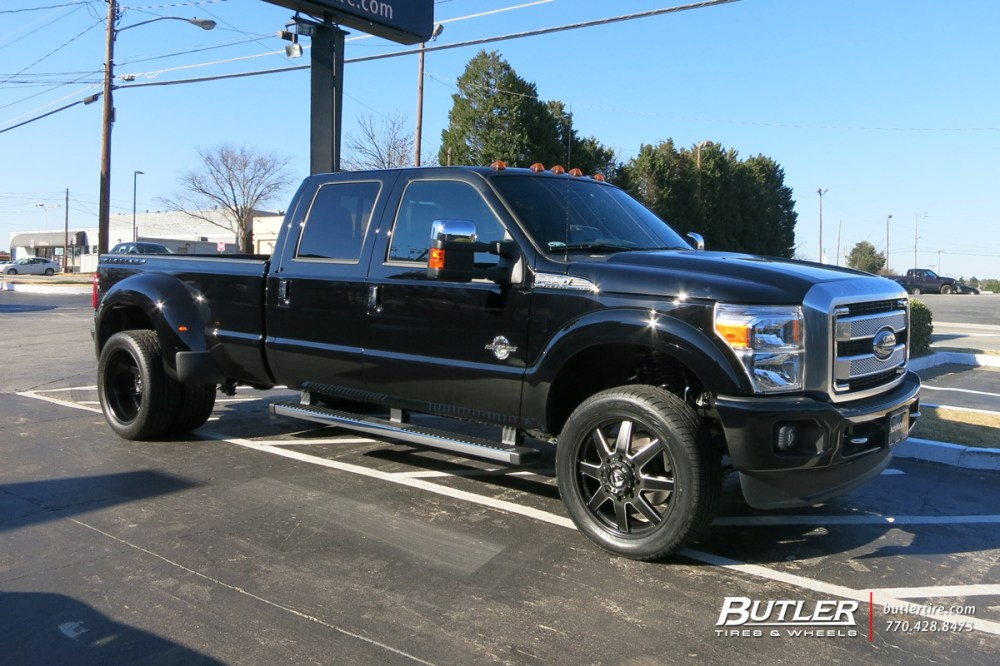 medium resolution of ford f350 with 22in fuel maverick wheels
