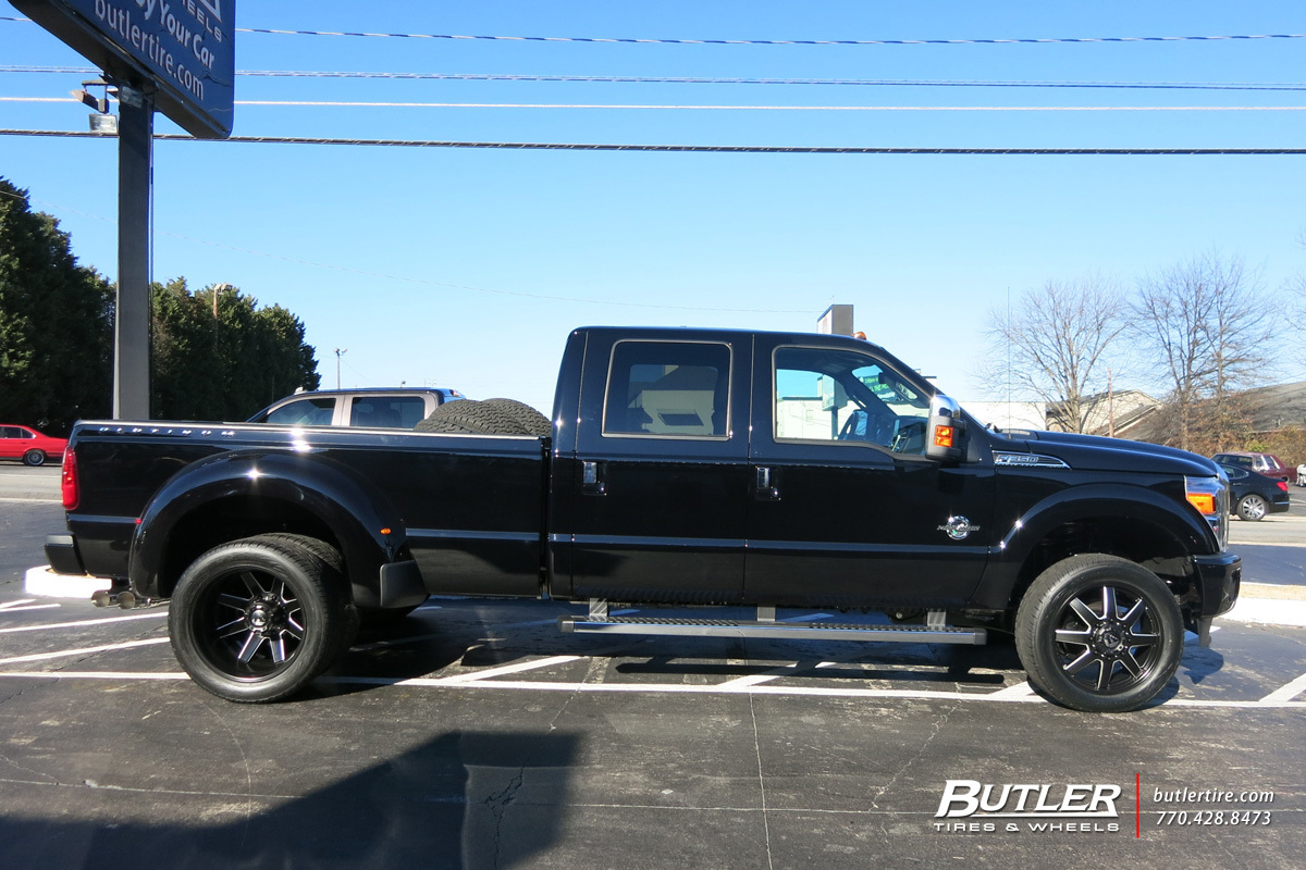 hight resolution of ford f350 with 22in fuel maverick wheels