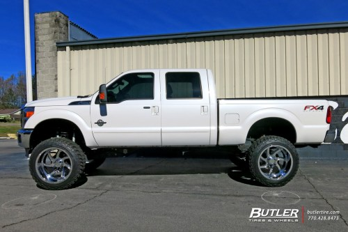 small resolution of ford f350 with 24in forgiato azioni wheels