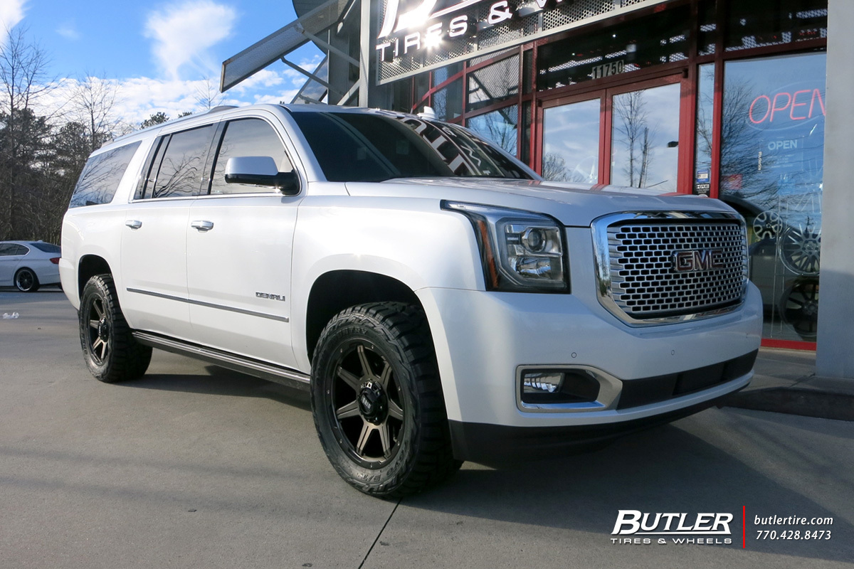 GMC Denali With 20in Grid Offroad GD6 Wheels Exclusively
