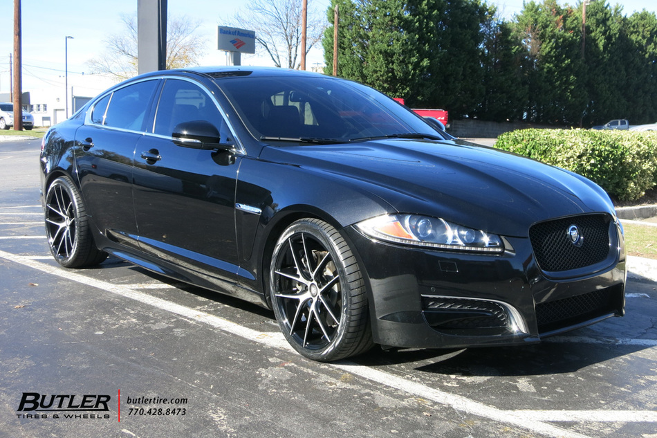 Jaguar XF With 20in Niche Targa Wheels Exclusively From