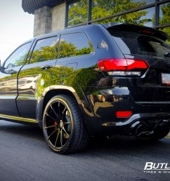 jeep cherokee srt 8 with 22in savini bm12 wheels [ 1200 x 800 Pixel ]