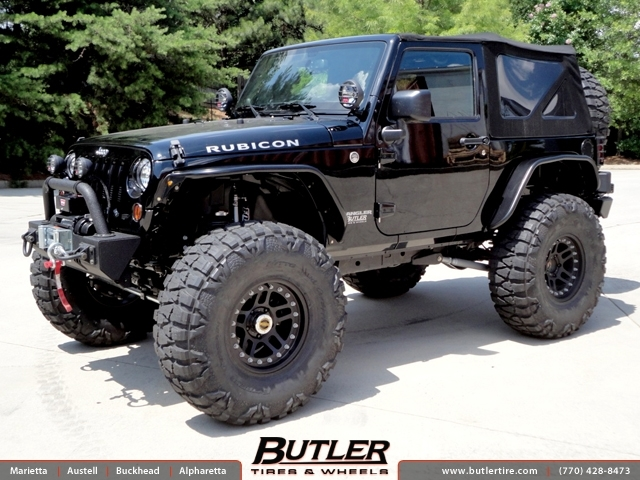 Jeep Wrangler With 17in ATX 195 Wheels Exclusively From