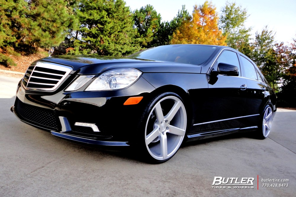 medium resolution of mercedes e class with 20in niche milan wheels