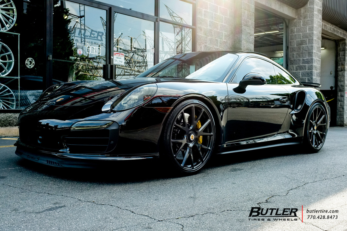 Car Rims And Tires Wallpaper Porsche 991 911 Turbo S With 21in Vossen Vps 306 Wheels