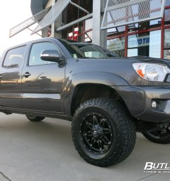 toyota tacoma with 18in fuel hostage wheels [ 1200 x 800 Pixel ]