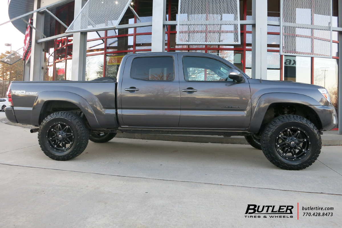 hight resolution of toyota tacoma with 18in fuel hostage wheels