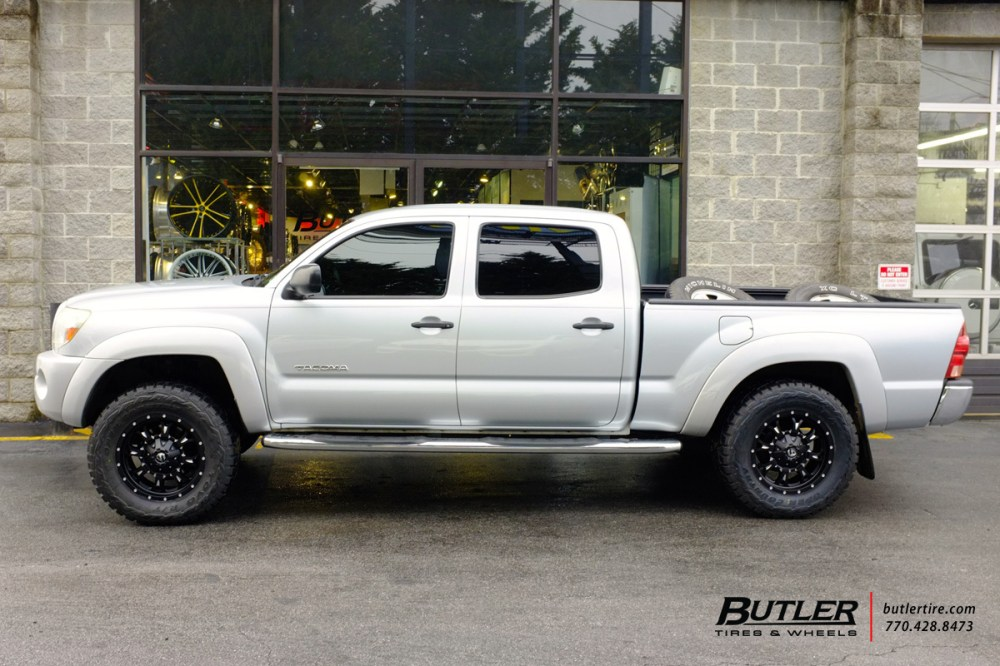 medium resolution of toyota tacoma with 18in fuel krank wheels