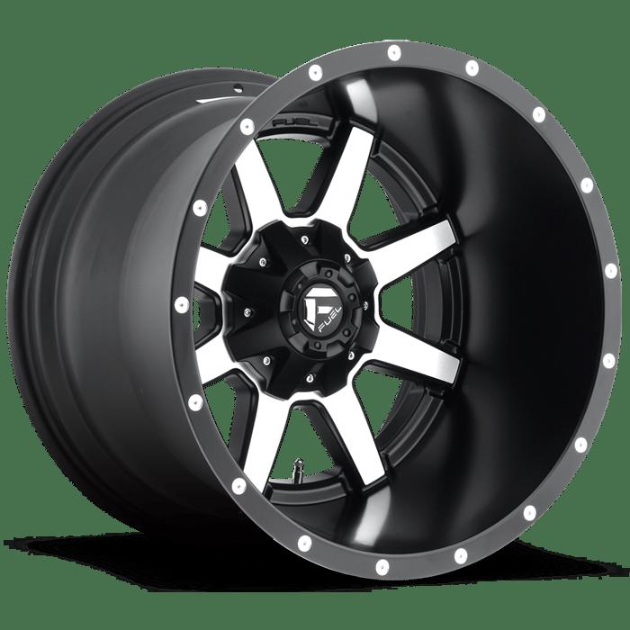 Fuel Maverick Deep Lip Wheels D537 At Butler Tires And