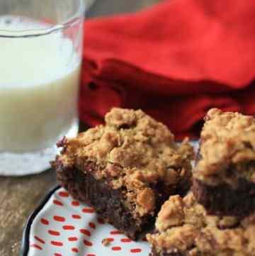 Rasberry Oatmeal Brownie