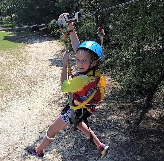 zip lines at Butter and Egg Adventures