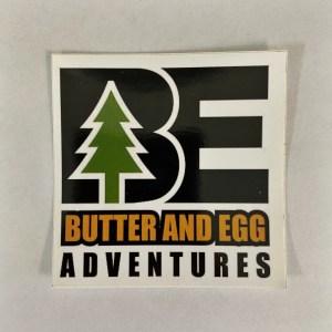 Butter and Egg Adventures Logo Sticker