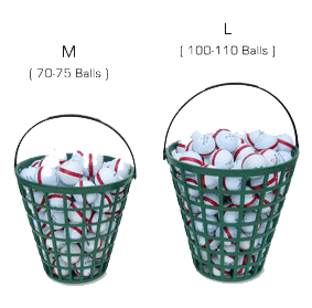 Golf Practice Balls at Butter and Egg Adventures