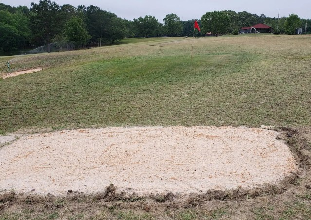 Bunker Practice Area at Butter and Egg Adventures