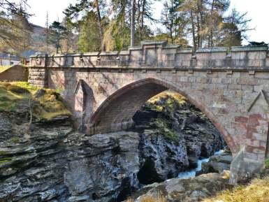 Ponte Linn of Dee, Braemar, Escócia
