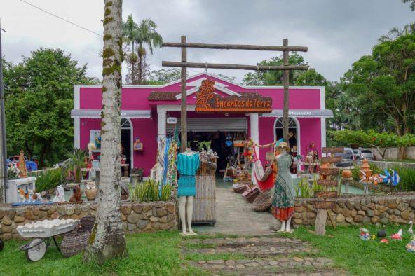 Morretes craft shop