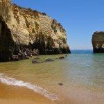 Praia dos Estudantes, Lagos, Algarve, Portugal