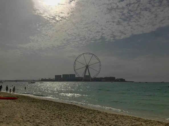 The beach, JBR, Dubai