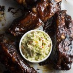 BBQ Beef Ribs - These are finger-licking, tender, juicy, delicious ribs cooked to perfection! | butterandthings.com