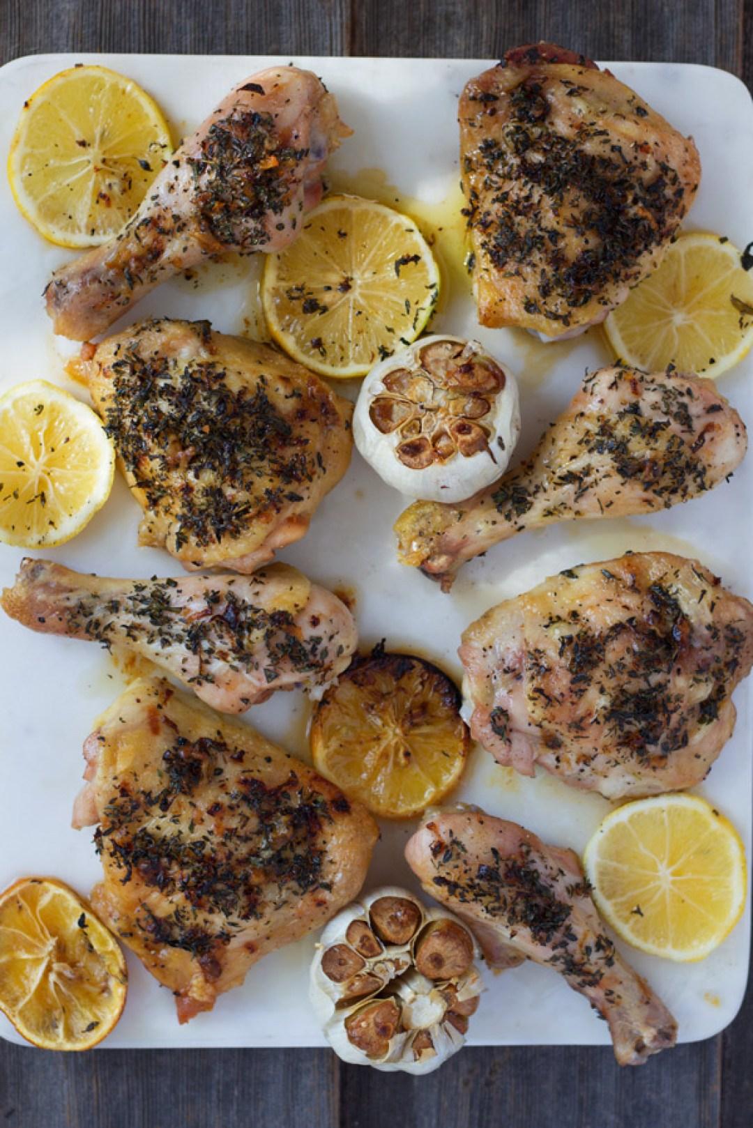 Roasted-Lemon-Herb-Chicken   www.butterandthings.com