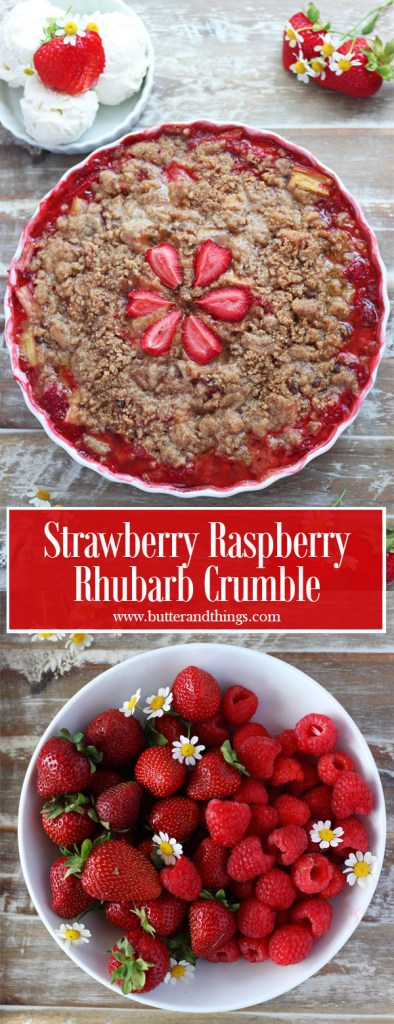Strawberry-Raspberry-Rhubarb-Crumble-Pin-for-pinterest